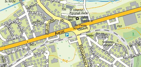 Bus-Bahnhof / Taunusstein Hahn