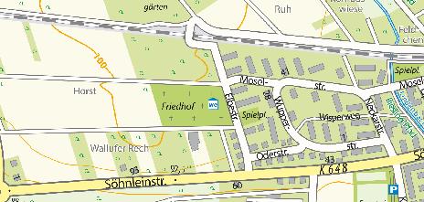 Friedhof Schierstein, Elbestraße 2
