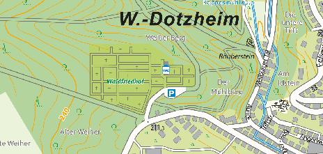 Friedhof Dotzheim, Frauensteiner Straße