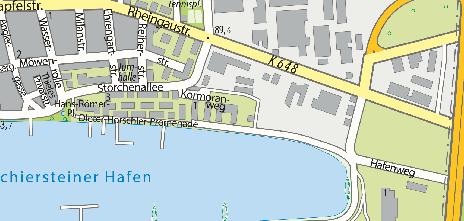 Schiersteiner Hafen, Ostteil