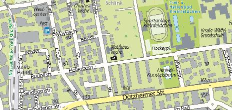 Matthäuskirche, Daimlerstraße 15