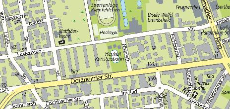 Henkell-Kunsteisbahn, Hollerbornstraße 38