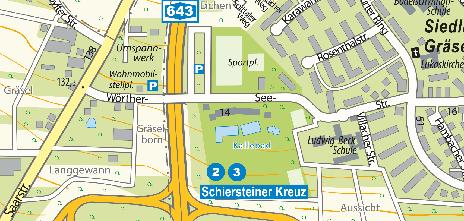 Freibad Kallebad, Wörther-See-Straße 14