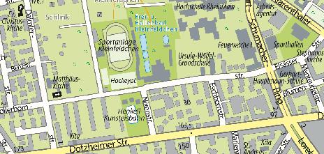 Frei- und Hallenbad Kleinfeldchen, Hollerbornstraße 9