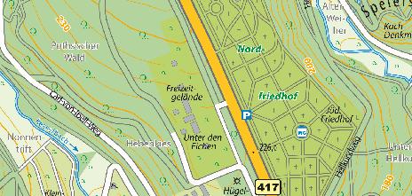 Freizeitgelände Unter den Eichen, Platter Straße 200