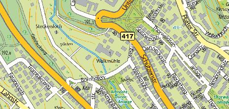 Walkmühle, Bornhofenweg 9