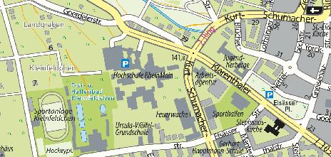 Hochschule RheinMain, Kurt-Schumacher-Ring 18