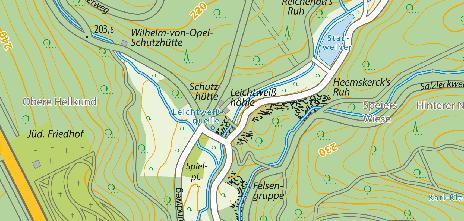 Leichtweißhöhle, Nerotal