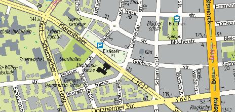 Elsässer Platz (Square)