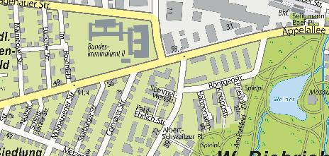 Seniorentreff in der Wohnanlage Semmelweisstraße