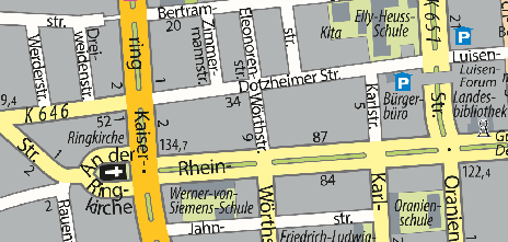 Frauen Museum, Wörthstraße 5