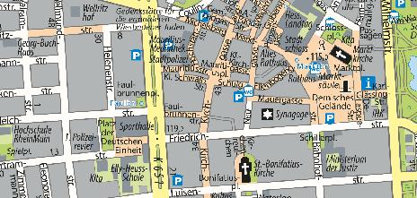 Fußgängerzone, Kirchgasse