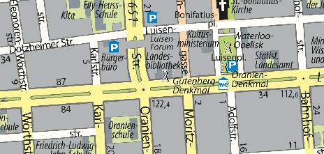 Hochschul- und Landesbibliothek RheinMain, Rheinstraße 55