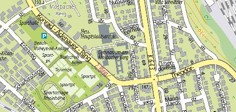 Gymnasium am Mosbacher Berg, Mosbacher Straße 59