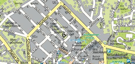 Kammerspiele, Lehrstraße 6