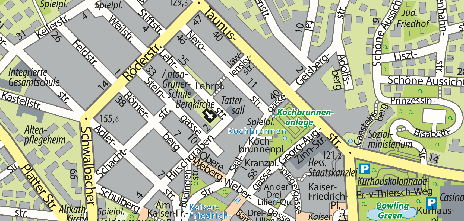 Tattersall, Lehrstraße 13