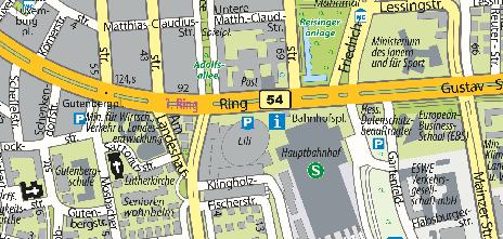 Parking Garage Liliencarré - Underground car park