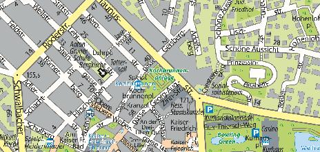 Kranzplatz und Kochbrunnenplatz