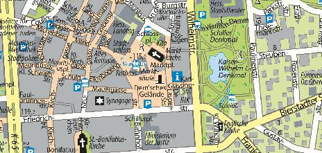 Marktsäule und Marktbrunnen