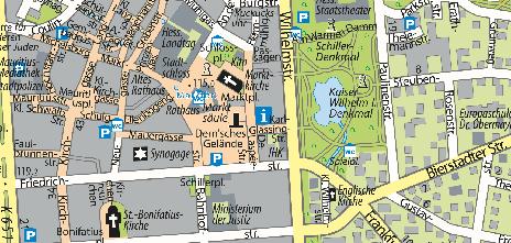 Tourist-Information, Marktplatz 1