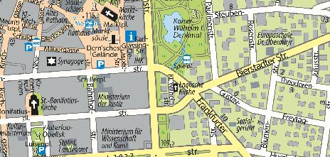 Villa Clementine, Frankfurter Straße 1