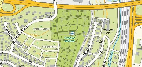 Friedhof Biebrich, Bernhard-May-Straße 26