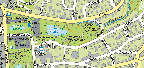 The Kurpark Wiesbaden