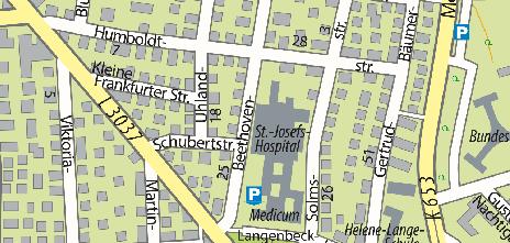 Otto-Fricke-Krankenhaus Paulinenberg GmbH, Beethovenstraße 20