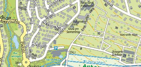 Klinik am Sonnenberg, Leibnizstraße 19
