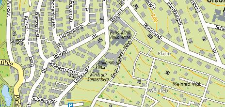 Median Klaus-Miehlke-Klinik, Leibnizstraße 23