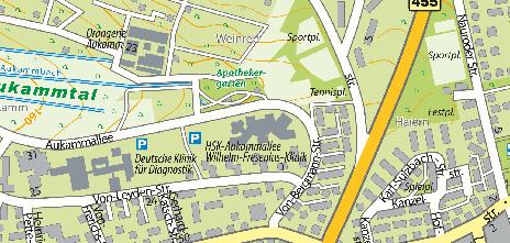 Wilhelm-Fresenius-Klinik, Aukammallee 39