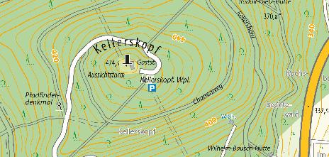 Referenzfläche Kellerskopf