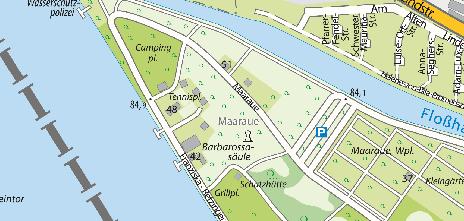 Maaraue, Mainz-Kostheim