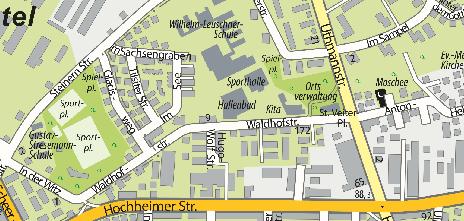 Hallenbad Kostheim, Waldhofstraße 11
