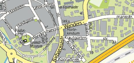 Harlekinäum, Wandersmannstraße 39