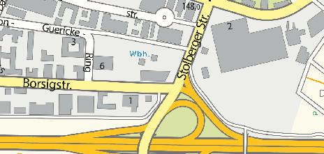 LILIUM Klinik, Borsigstraße 2–4